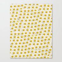 eggs Canvas Prints featuring Eggs by Tyler Spangler