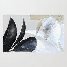 Plant Leaves, Botanical, Foliage Rug