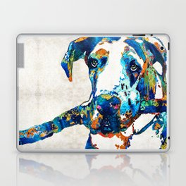 Great Dane Art - Stick With Me - By Sharon Cummings Laptop & iPad Skin