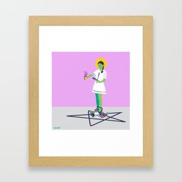 Crystal Intentions Framed Art Print