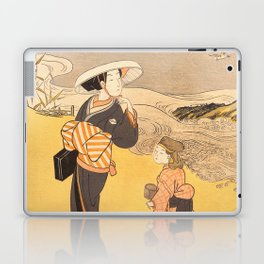 The Jewel River of Plovers Laptop & iPad Skin