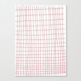 Maths Grid Canvas Print