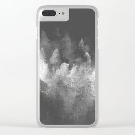 Chromatic Forest Nature Photography Clear iPhone Case