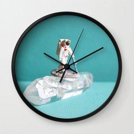 Crystal Astronaut Wall Clock