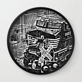 Norfolk & Southern HDR Train Wall Clock
