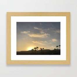 Malibu sunsets number 2 Framed Art Print