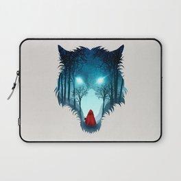 Big Bad Wolf (light version) Laptop Sleeve