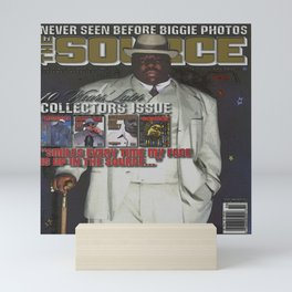 The Source Issue #207 (February 2007) The Notorious B.I.G. Mini Art Print