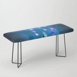 Christmas Jellyfish Bench
