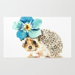 When life gets a little prickly, put a flower on it Rug