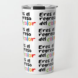 El regreso del color Travel Mug