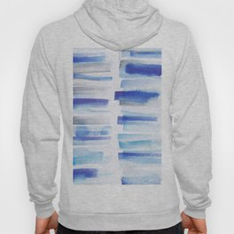 5| 181101 Watercolour Palette Abstract Art | Lines | Stripes | Hoody