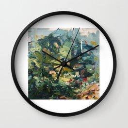 Moss Study 2 Wall Clock