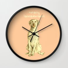 Labradorable Wall Clock