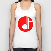 logo Tank Tops featuring logo by davefallonphotography