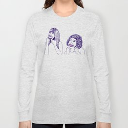 Don't Tell Us To Smile // Broad City Long Sleeve T-shirt