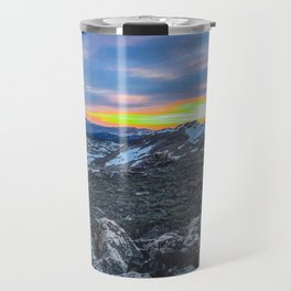 Sunset at the Top of the World Travel Mug