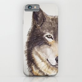 Wolf By Isabella Medici iPhone Case