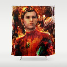 spider tom Shower Curtain