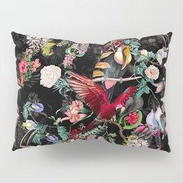 Floral and Birds IX Pillow Sham