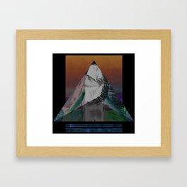 Bermuda Love Triangle Framed Art Print