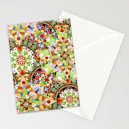 Circus Pastel Mandala Stationery Cards