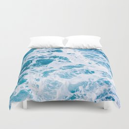 Perfect Ocean Sea Waves Duvet Cover