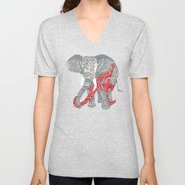 Roll Tide (Alabama Elephant) Unisex V-Neck