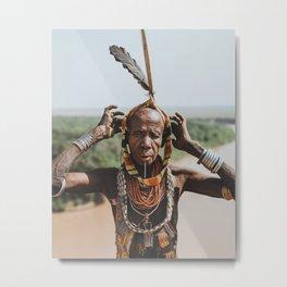 Karo Tribeswoman IV Metal Print