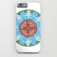 stained flower Slim Case iPhone 6s