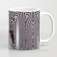 boba Mugs featuring Boba Effect by Fabian Gonzalez
