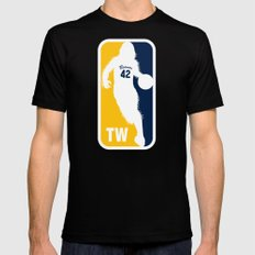 Beacon Town's MVP MEDIUM Mens Fitted Tee Black