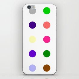 Cinolazepam iPhone Skin