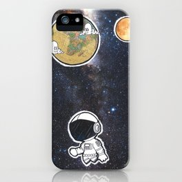 We The Explorers iPhone Case