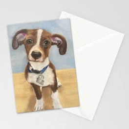 Cute Terrier Mix Stationery Cards