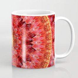 Crystal Fire Mandala Coffee Mug