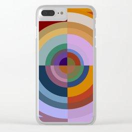 Colour Revolution ELEVEN Clear iPhone Case