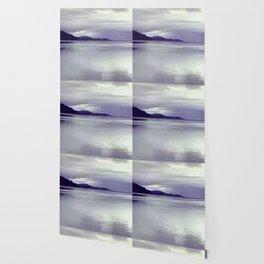 River View in Purple Wallpaper