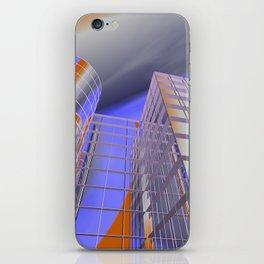 city -w3- iPhone Skin
