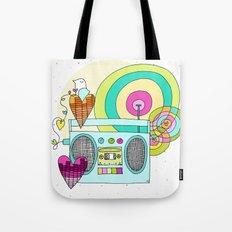 I WANNA ROCK!  Tote Bag