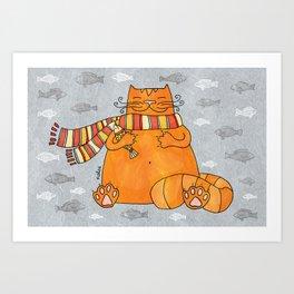 Feel good! Art Print