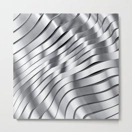 Black & White I Metal Print