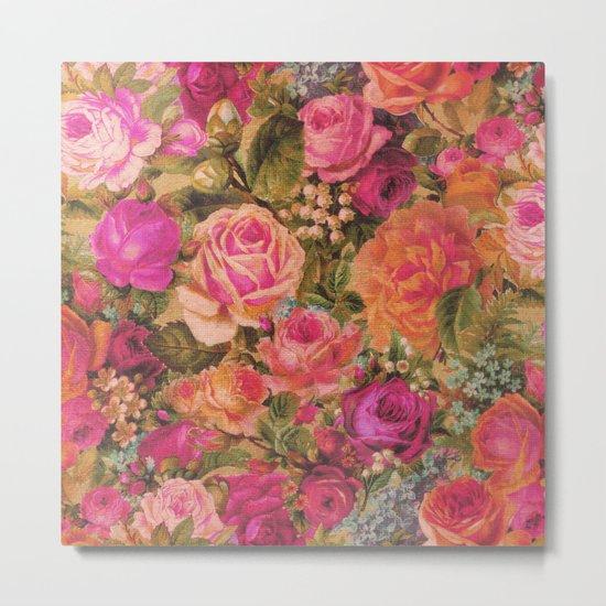 Rose Garden 1 Metal Print