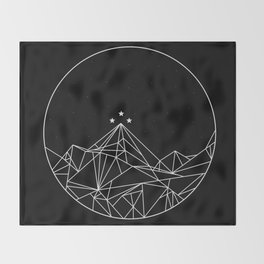 The Night Court Symbol Throw Blanket