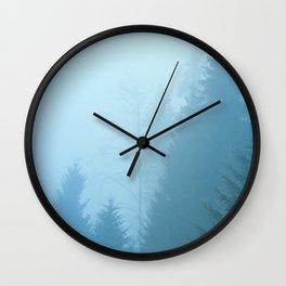 Forest Mist Wall Clock
