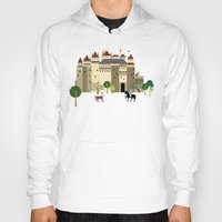 castle Hoodies featuring castle  by Design4u Studio
