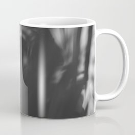 [26] Black and white shadows, woman and man, silhouette, forest, nature Coffee Mug