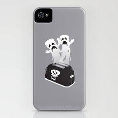 Ghost Toast iPhone (4, 4s) Slim Case
