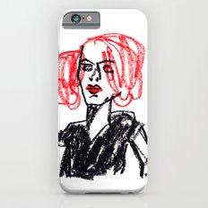 red hair girl Slim Case iPhone 6s