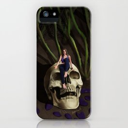 In The Garden At Night iPhone Case